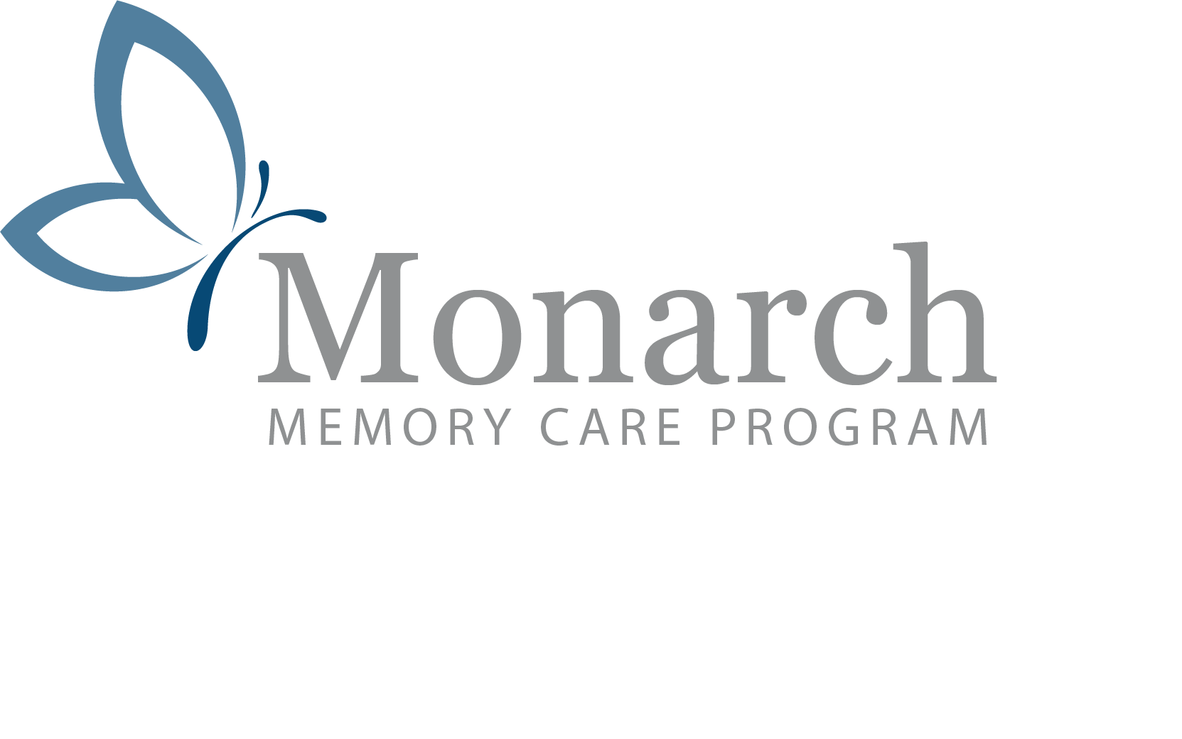 MONARCH memory care logo butterfly